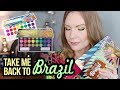 TAKE ME BACK TO BRAZIL PALETTES BH Cosmetics Swatches Review Tutorial LipglossLeslie mp3