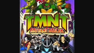 TMNT Mutant Melee - Character Select