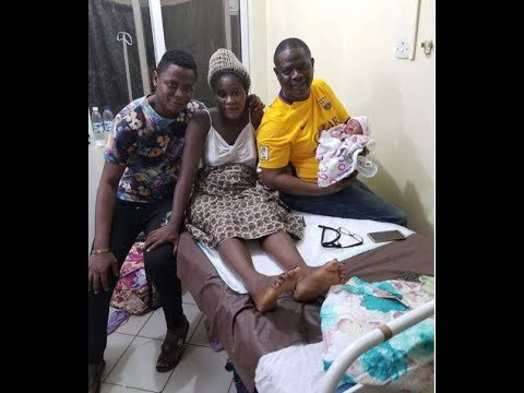 Download Yinka Quadri Son's Wife Welcomes A Beautiful Baby Girl. Jide kosoko,Muka Ray At The Naming