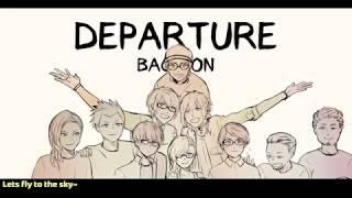 【ōkami Ken × cella♚ ft. Indonesian Utaites】departure・BACK-ON【IDRL2017お疲れさまでした!!!!!!!!!!!】