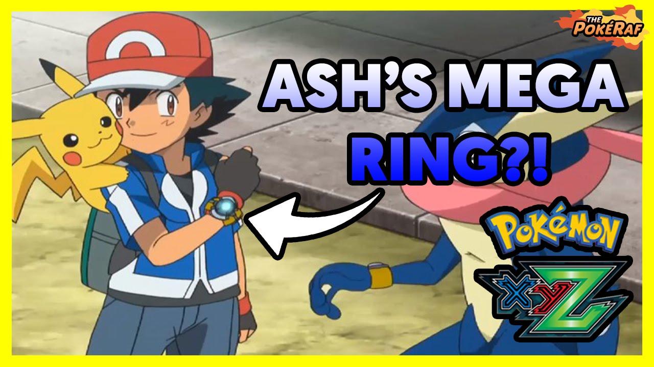 Pok 233 Mon Xy Amp Z Ash S Mega Ring Ash S Greninja Mega
