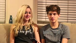 Q & A with Ricky Garcia and Chloe Lukasiak - Boyfriend Tag