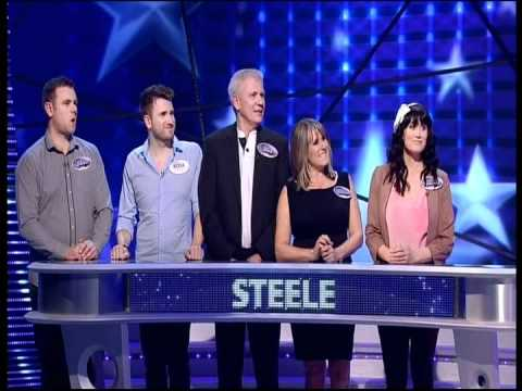 Dawn Steele  Family Fortunes  March 2012