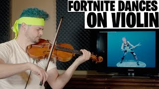 FORTNITE DANCES ON VIOLIN