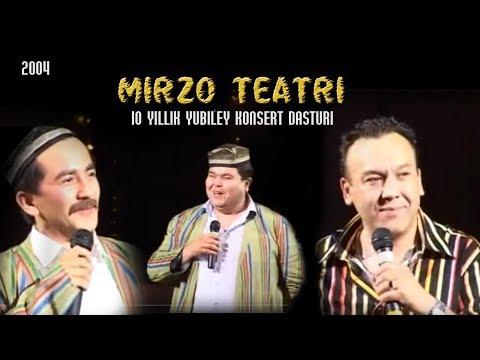 Mirzo Teatri - 10 Yillik Yubiley Konsert Dasturi 2004