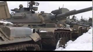 北部方面隊 戦車射撃競技会① Tank shooting match