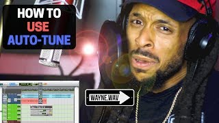 How to Use Auto- Tune | Get the Hip Hop Autotune Effect