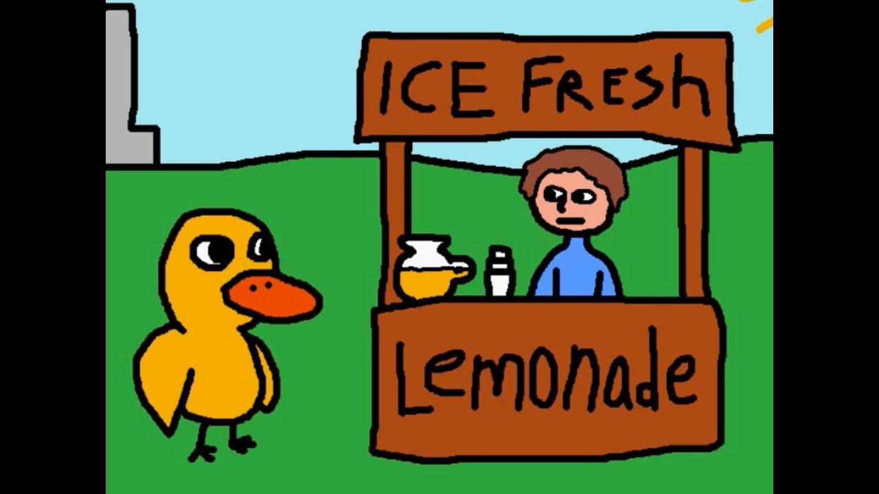 Image result for lemonade stand duck