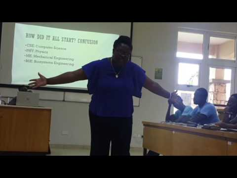 """""""My Journey for Social Change: Confusion, Courage and Lots Of Rubbish"""" at Ashesi University"""