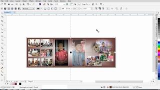 Belajar Coreldraw  -  membuat foto kolase