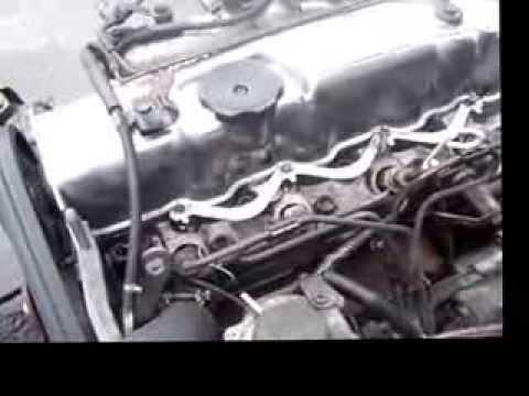 mitsubishi 4d56 turbo sel engine - YouTube