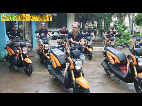 Bohol Bikes Motorcycle Rental Alona Beach Panglao Philippines