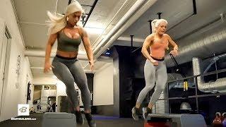 Full Body HIIT Training | Swedish Fitness Models Anna Staalnacke & Caroline Aspenskog