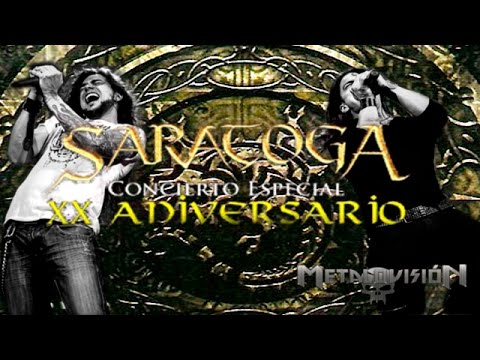 Saratoga Concierto XX Aniversario - Reportaje  en Madrid, sala Joy Eslava. 20/10/2012