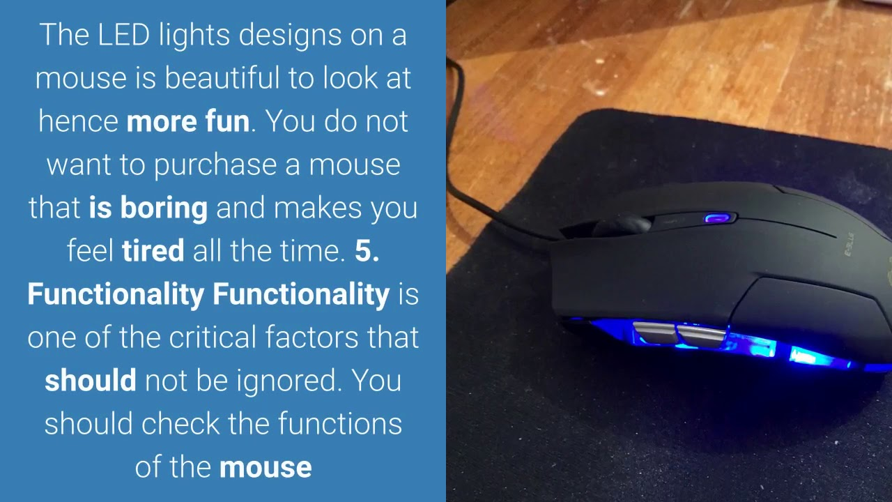 67764a9f304 Best Silent Gaming mouse 2019 - YouTube