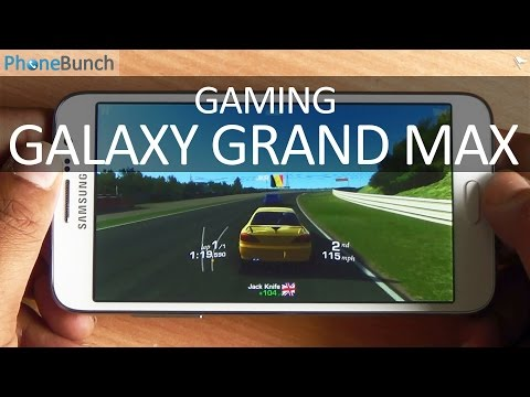 Samsung Galaxy Grand Max Gaming Review