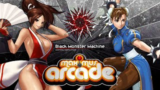 Frontend Maximus Arcade (Black Monster Machine - 4 TB)