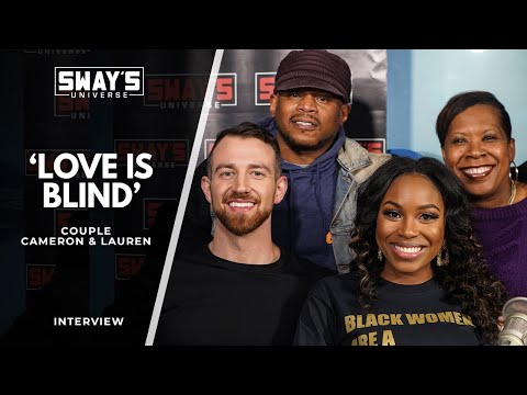 Netflix 'Love is Blind' Couple Cameron & Lauren Talk Clips That Weren't Aired + a Surprise Freestyle