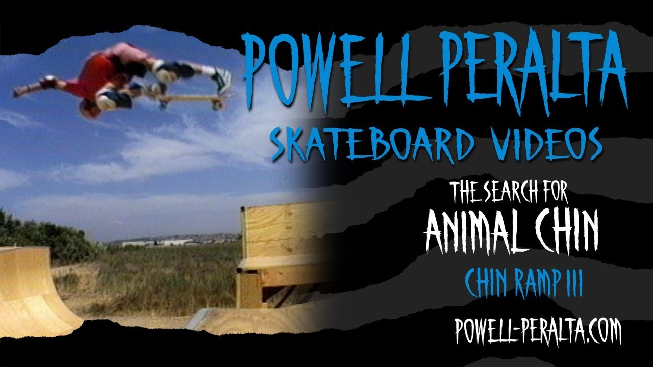 """POWELL PERALTA Animal Chin 4/"""" Have You Seen Him Skateboard Surf Snowboard Decal"""