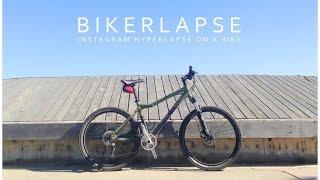 iPhone 5S : Bikerlapse - Hyperlapse on a Bike
