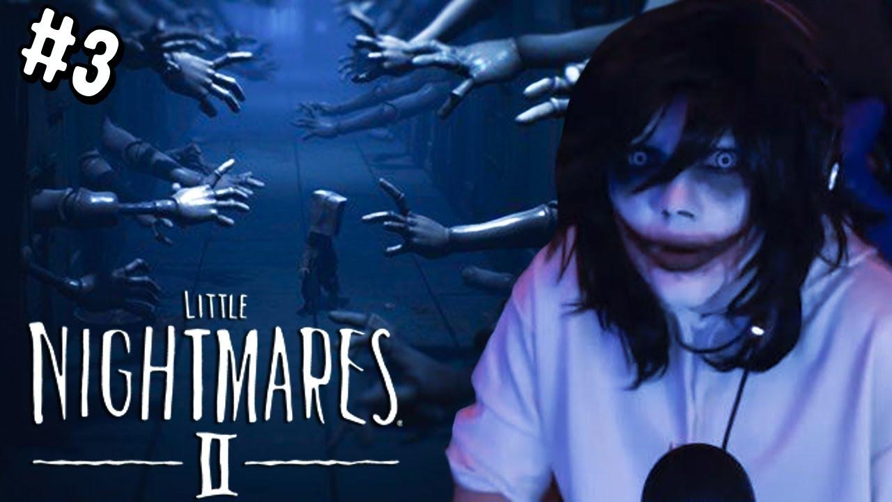 LITTLE NIGHTMARES 2 | Jeff the Killer muere de miedo #3