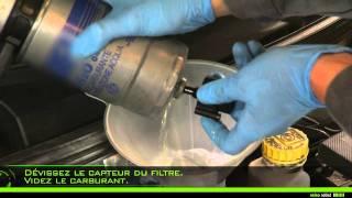 Valeo Fuel Filter - montage d'un filtre à carburant à visser