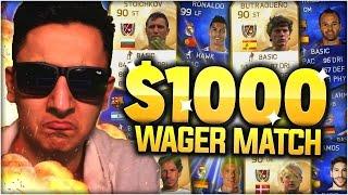 $1,000 FIFA MATCH!!! FIFA 15 ULTIMATE TEAM