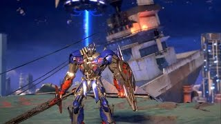TRANSFORMERS Online 变形金刚 - 2nd CBT Tutorial Optimus Prime Gameplay