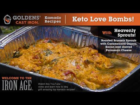 Kamado Grill Recipes! Keto Love Bombs! Goldens' Cast Iron!