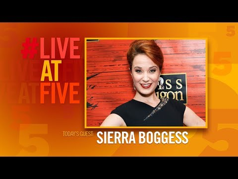 Broadway.com #LiveatFive with Sierra Boggess
