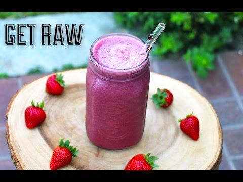 GET RAW-Licuado de Uva para Reemplazar el Desayuno!
