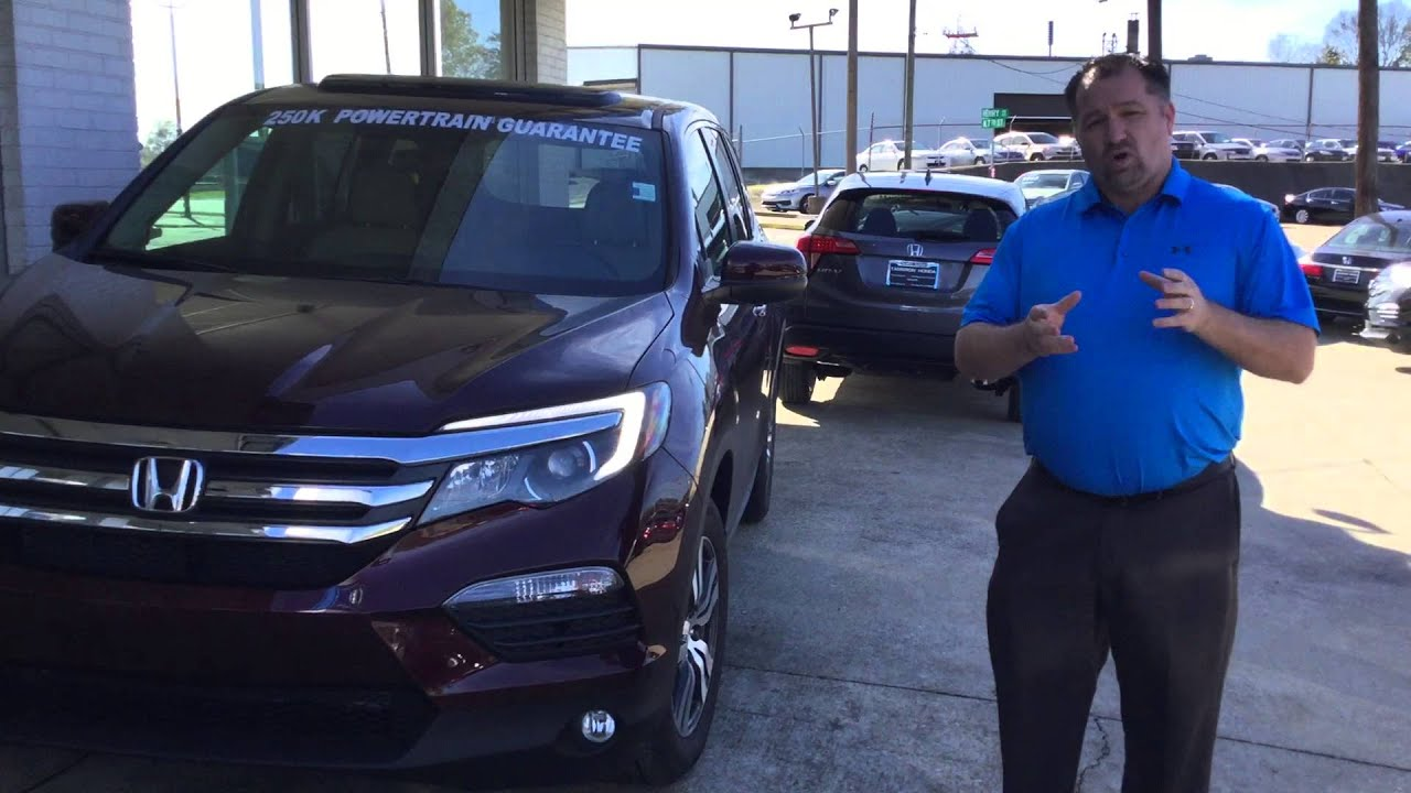 2016 honda pilot for sean from russell spencer with tameron honda
