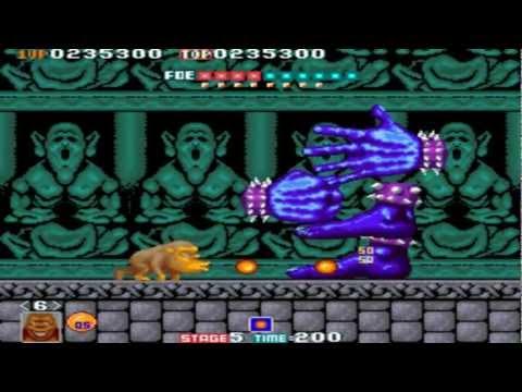 Toki Completed 1 Coin No Death Hardest Arcade