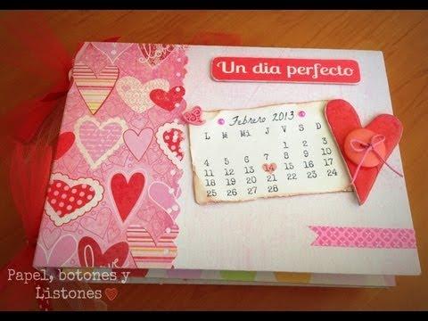 Mini album dia de san valentin youtube - Album para san valentin ...
