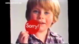 SORRY board game TV ADVERT 1978  THAMES TELEVISION HD 1080P   childhood memories  playing games toge