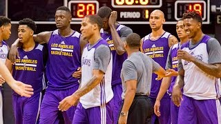 Lakers Training Camp In Hawaii: Day 2