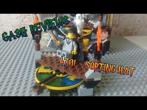 Я тебя на факультетах вертел | Lego Harry Potter 4701 Sorting Hat
