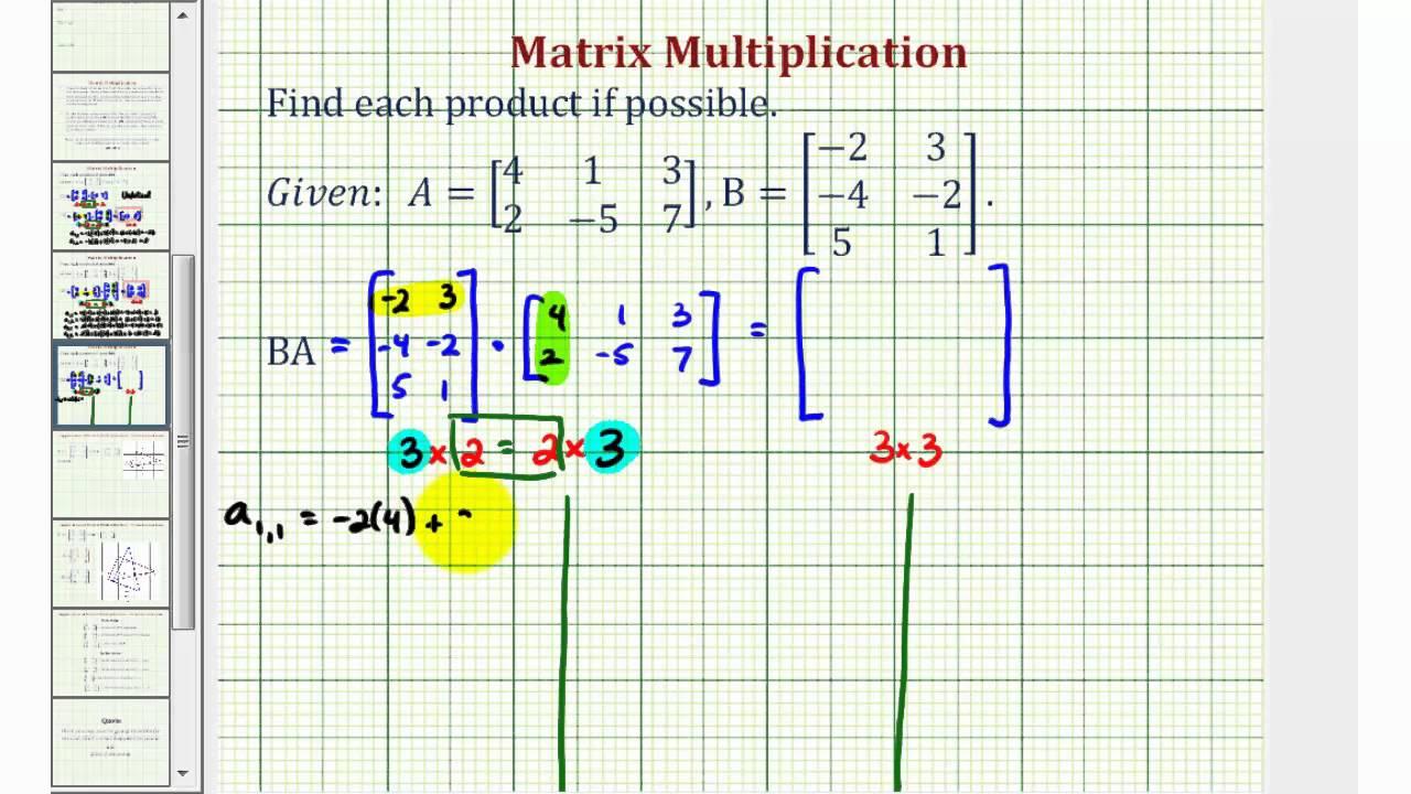3x+y=4 and x-2y=6 in matrix form