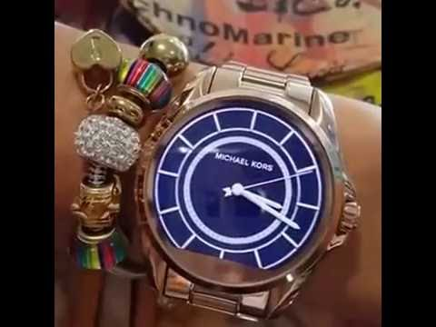 5cdf6458436 Relogio Michael Kors Digital Lançamento SmartWatch Compatible iOs y Android