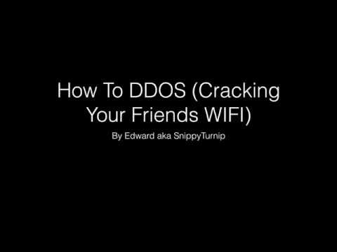 How To DDOS on Mac (Working)