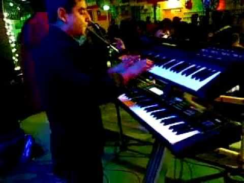 Mauricio Díaz ex tecladista grupo alegría