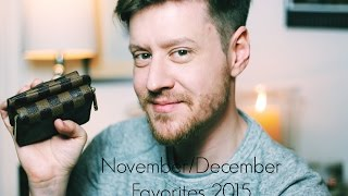 November December Favorites 2015 | Louis Vuitton, Yankee Candle and more