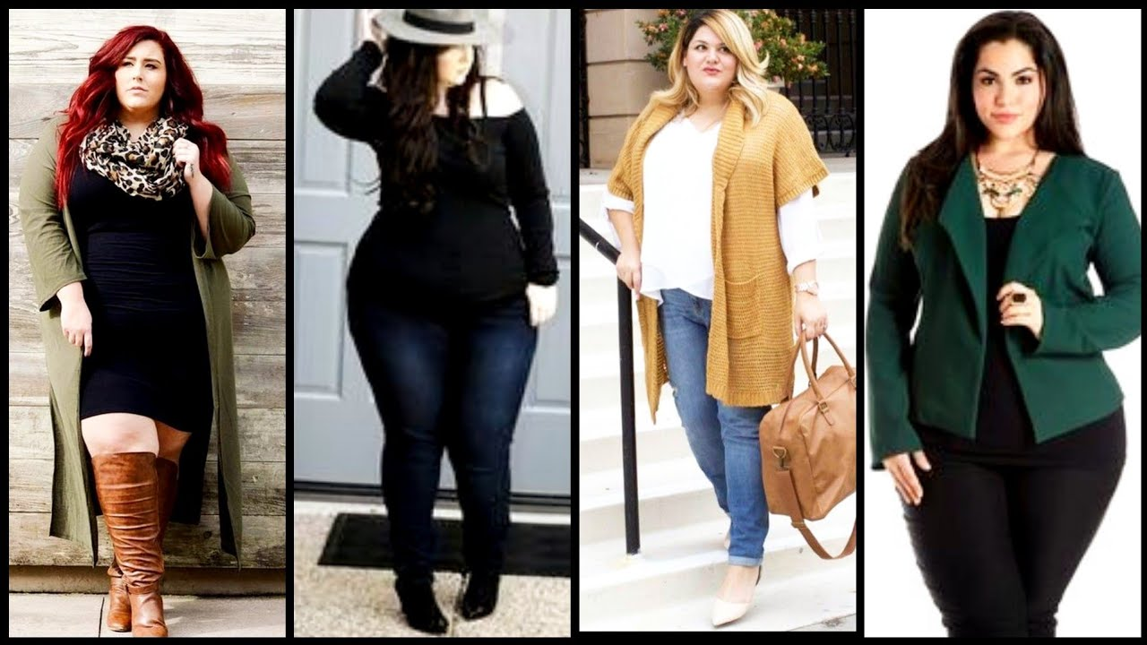 [VIDEO] - Most admirable cute plus size winter fashion ideas/relexing big size outfit ideas to wear this fall 7