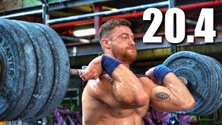Open Workout 20.4 Vs. Strongest Man In CrossFit®
