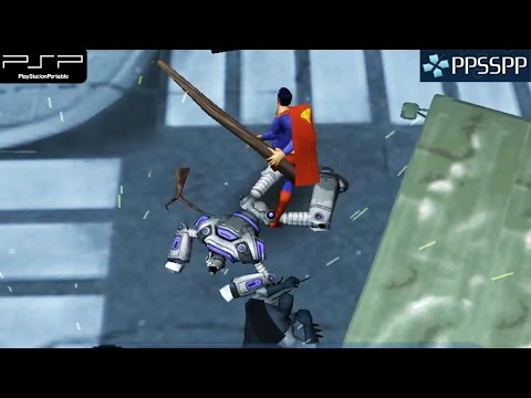 Justice League Heroes - PSP Gameplay 1080p (PPSSPP)