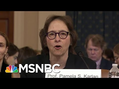 Constitutional Scholars Say Trump Committed Several Impeachable Offenses | Hardball | MSNBC