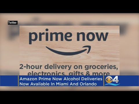 Amazon's Prime Now Adds Beer, Wine To Superfast Delivery In Miami