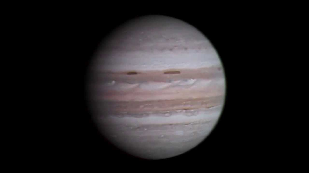 raw footage of jupiter from voyager 1 1979 color composition