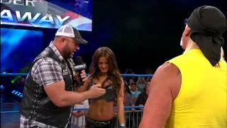 Hulk Hogan confronts World Champion Bully Ray - August 29, 2013