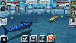 Jurassic Park Builder - Aquatic All Star League tournament mode online